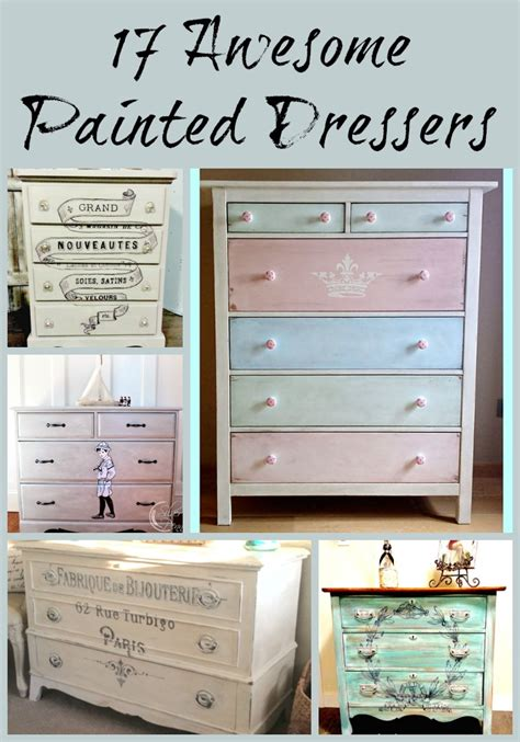 17 awesome painted dressers the graphics