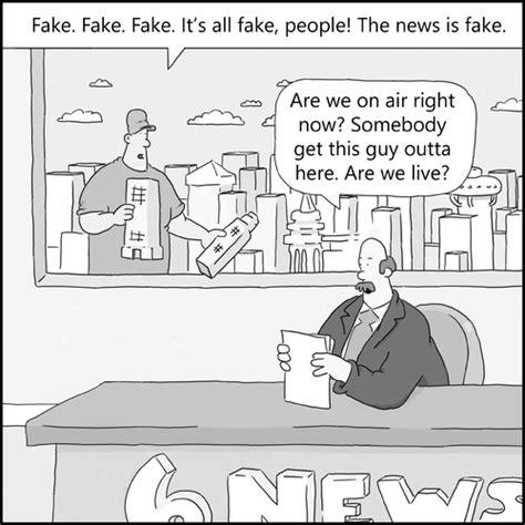the real faux news by creative jones politics cartoon