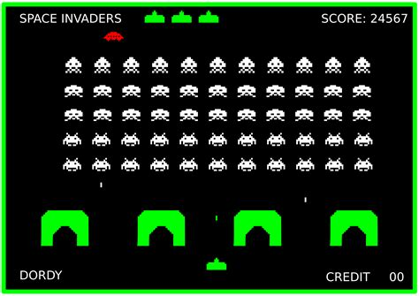 The Space Invaders clipart space invaders