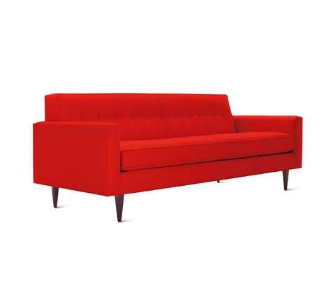 design within reach sofa bantam 86 sofa in fabric sofas from design within reach