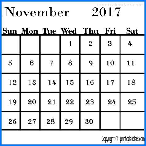 printable november 2017 calendar with lines free november 2017 calendar templates tools
