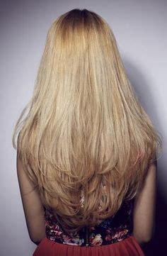 vertical layers on long hair 1000 images about hair on pinterest