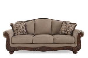 mathis brothers living room furniture ashley cecilyn cocoa sofa mathis brothers furniture