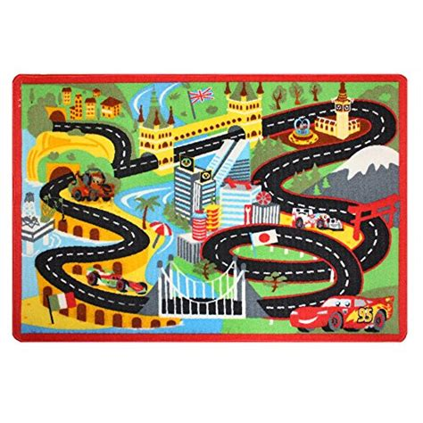 Disney Cars Book Play Mat - disney cars rug nitro edition w lightning and mater