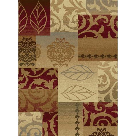Area Rugs Home Depot 5x8 Tayse Rugs Impressions Multi 5 Ft 3 In X 7 Ft 3 In Transitional Area Rug 7730 Multi 5x8