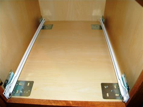 how to install kitchen cabinet drawer slides measuring for kitchen cabinet pull out shelves