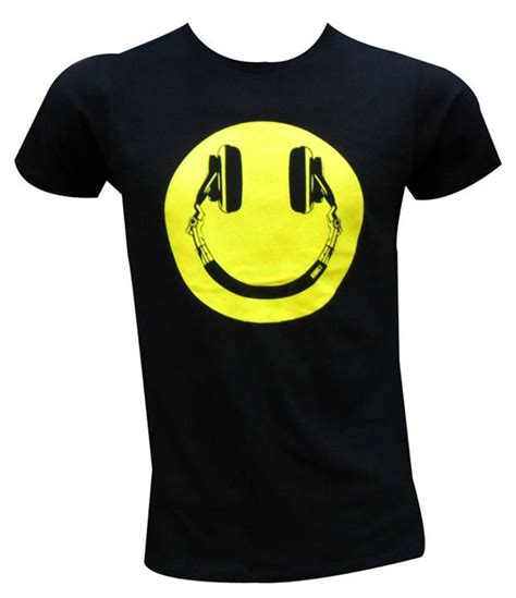 t shirt smile y smiley headphones t shirt