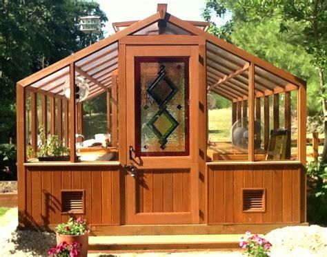 wood frame greenhouse plans