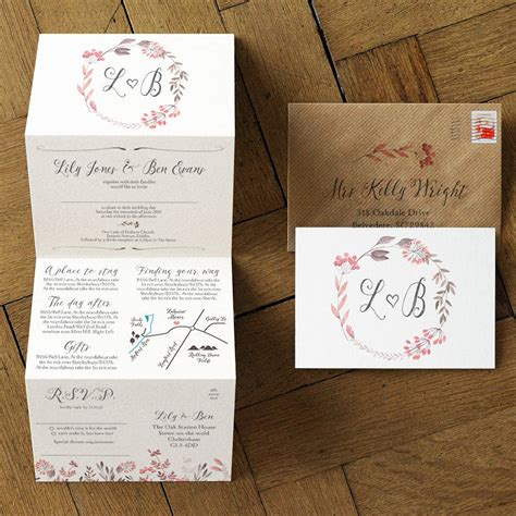 summer meadow wedding invitation set by feel wedding invitations notonthehighstreet