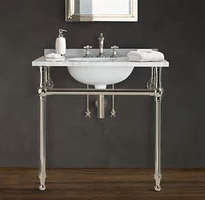 console bathroom sink master bathroom console sink elliondecor