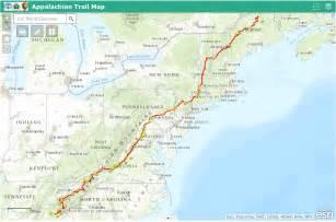 appalachian trail map appalachian trail map appalachian trail guide