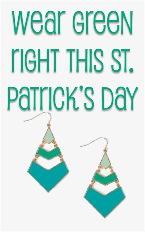 where do you put a st wear green right this st patrick s day you put it on