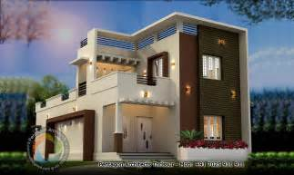 Home Design Kerala 2016 1748 Sq Ft Double Floor Contemporary Home Design Home