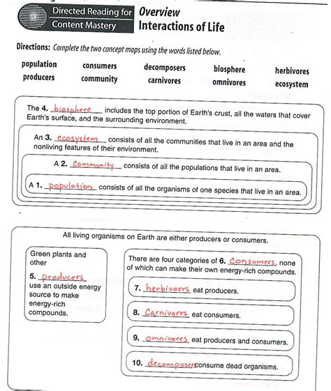 Ecology Worksheet Answers by Ecology Worksheets Worksheets Releaseboard Free Printable Worksheets And Activities