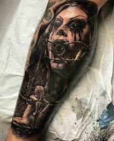 creepy horror tattoo best tattoo ideas gallery