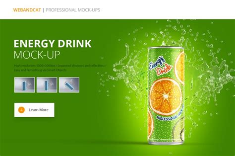 energy drink template 17 best images about mockups on logos
