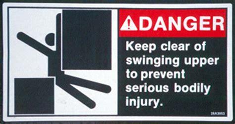 dangers of swinging elcosh managing mobile crane hazards