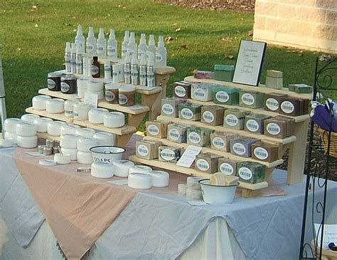 Handmade Soap Displays - soap display flickr photo