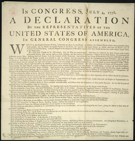 what are the four sections of the declaration of independence declaration of independence right to institute new