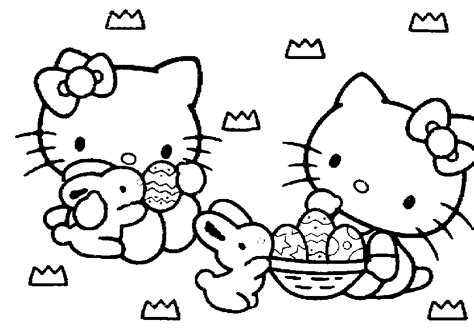 Easter Cartoon Pictures Cliparts Co Free Printable Hello Coloring Pages