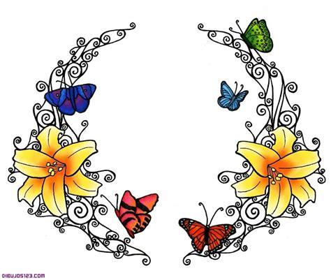 imagenes de flores dibujos fondo con flores