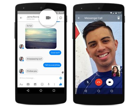 calling android brings calling to messenger