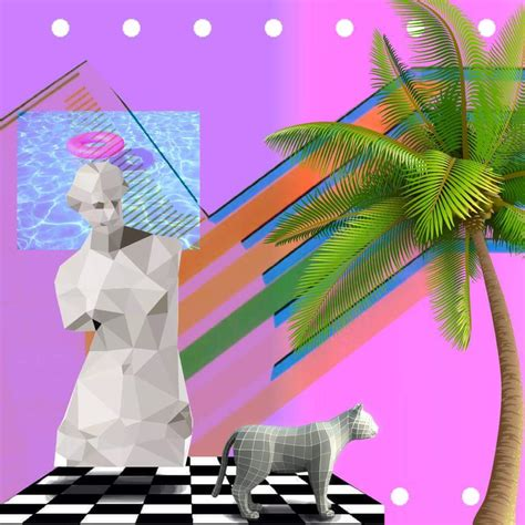 Virtual Home Decor vaporwave is dead sorry if you missed it girlfriend is