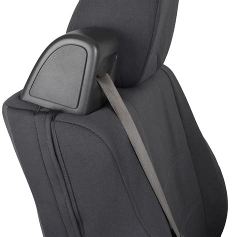 custom ford seat covers front pair custom fit charcoal gray cloth seat covers