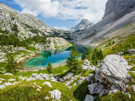 triglav national park  great lake julian alps slovenia