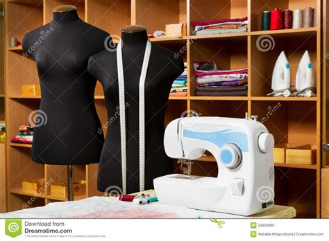 fashion design equipment list fashion designer studio with dressmakers equipment stock