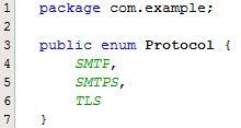 oracle tutorial enum sending an email using the javamail api