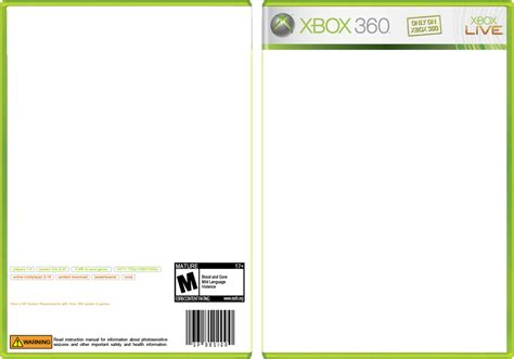 template xbox 360 5 best images of xbox one cover template xbox 360 cover template xbox one template