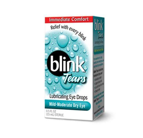 Eye Blink blink 174 tears lubricating eye drops detailed information