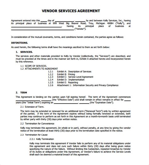 Service Letter Agreement Termination Letters 21 Free Word Pdf Documents Free Premium Templates