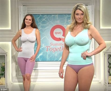 Joda Pink By Astrid Shopping qvc s curvaceous parading in vests and briefs
