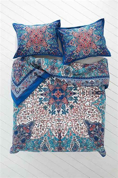 plum bow bedding plum bow dandeli medallion duvet cover from urban outfitters