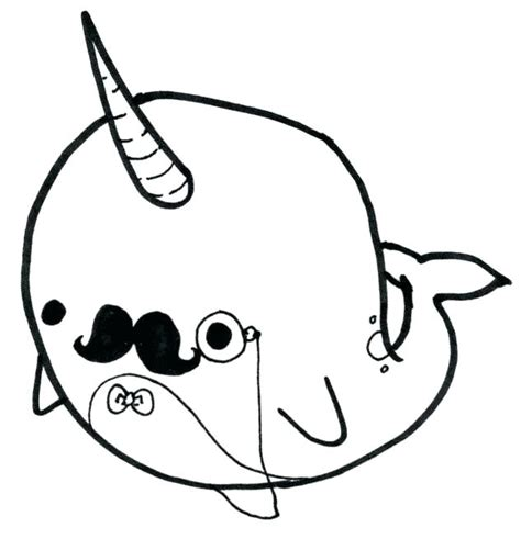 Coloring Page Narwhal by Narwhal Color Narwhal Coloring Pages Narwhal Coloring Page