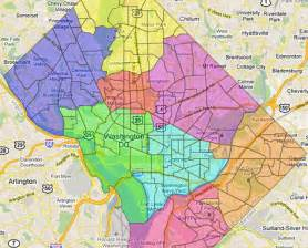 washington dc map of wards now you can redraw dc s wards greater greater