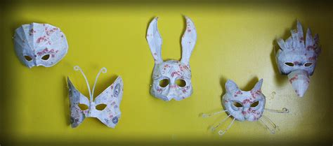 Splicer Mask Papercraft - papercraft splicer masks by flare on deviantart