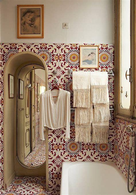 modern bohemian   bathroom pivotech