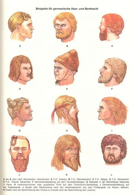 german warrior haircuts 17 best images about germanic tribes on pinterest