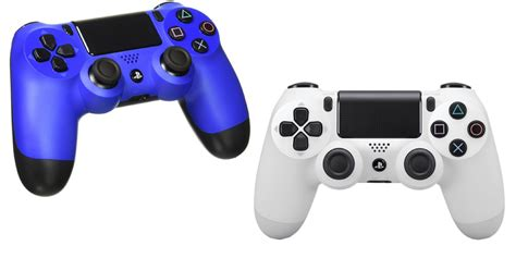 dualshock 4 colors grab playstation dualshock 4 controllers in 4 colors for