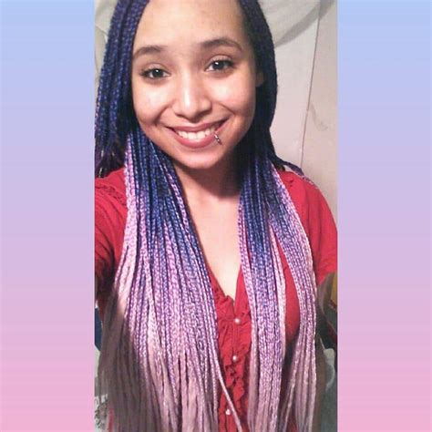 10 Epic Colorful Box Braids To Spice It Up ? HairstyleCamp