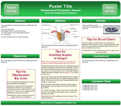 free powerpoint poster templates template poster powerpoint best
