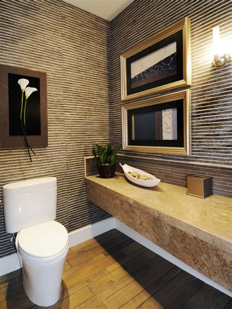 half bathroom tile ideas half bathroom or powder room hgtv