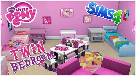 my pony bedroom my pony themed bedroom the sims 4 room