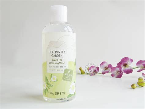 Original The Saem Healing Tea Garden Cleansing Water Pembersih Wajah korean skincare and makeup in the philippines