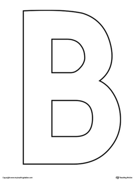 lowercase letter b color by letter worksheet