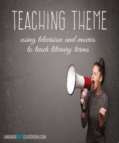 themes in an education the movie teaching themes on pinterest anchor charts theme anchor