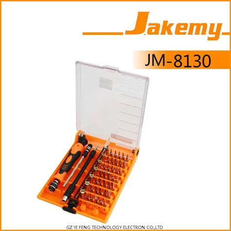 Diskon Jakemy 45 In 1 Computer Repair Tool Kit Jm 8130 jakemy 45 in 1 computer repair tool kit jm 8130